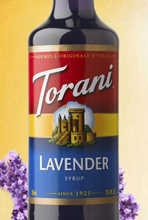Torani Lavender Syrup 750 ml