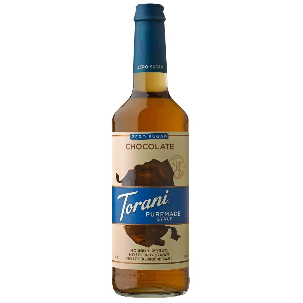 Torani Puremade Zero Sugar Chocolate Syrup 750 ml