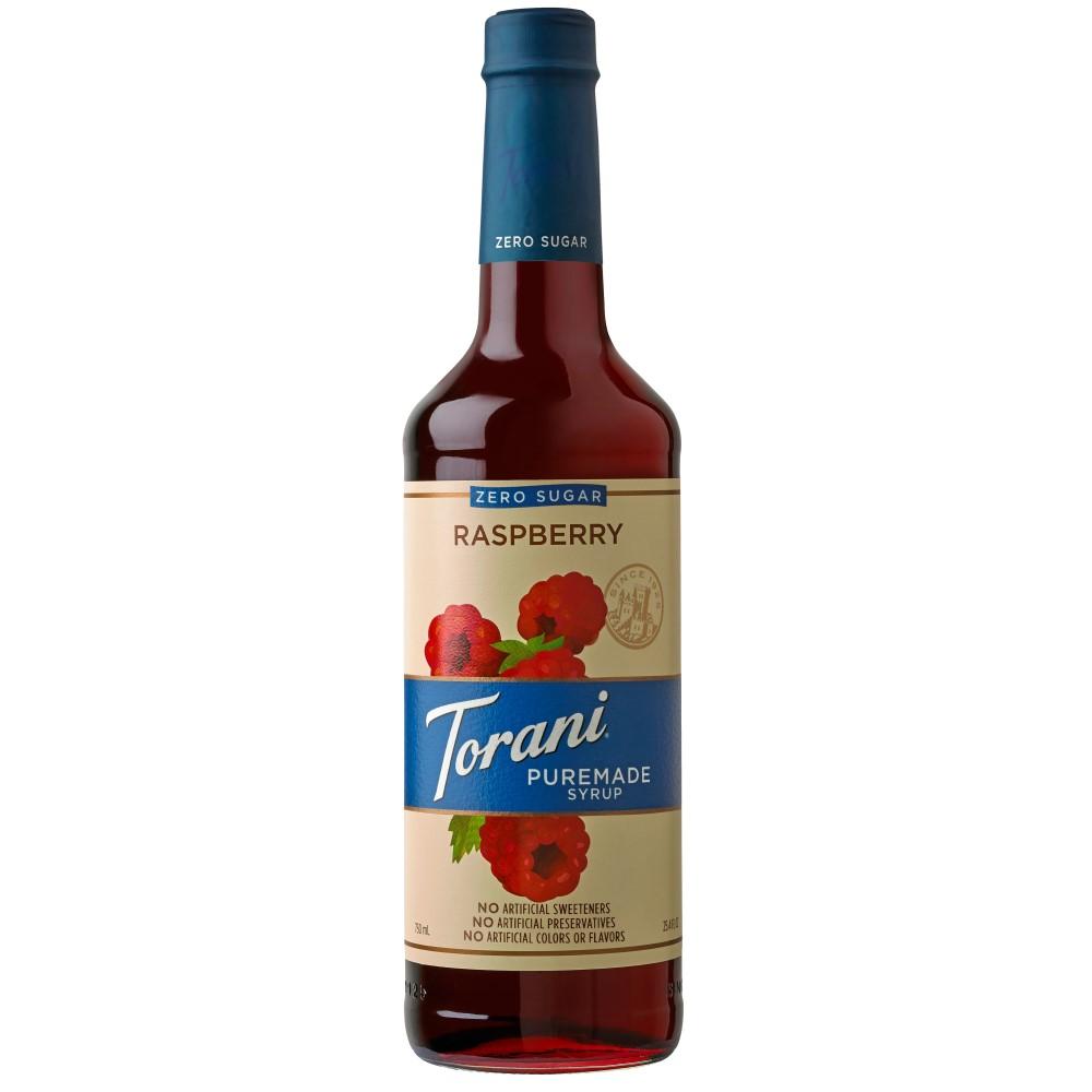 Torani Puremade Zero Sugar Raspberry Syrup 750 ml