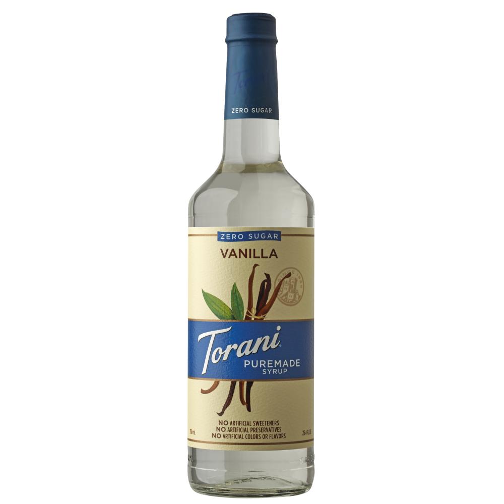 Torani Puremade Zero Sugar Vanilla Syrup 750 ml