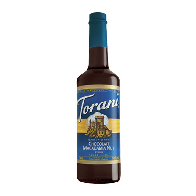 Torani Sugar Free Chocolate Macadamia Nut Syrup 750 ml
