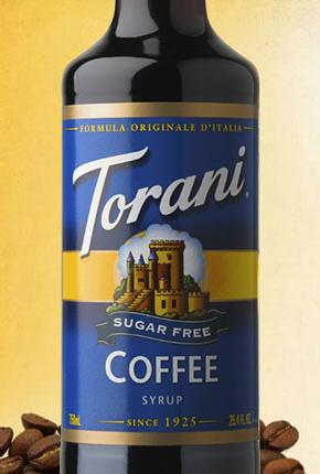 Torani Sugar Free Coffee Syrup 750 ml