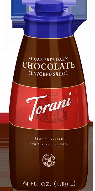 Torani Sugar Free Dark Chocolate Sauce 64oz