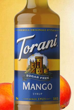 Torani Sugar Free Mango Syrup 750 ml