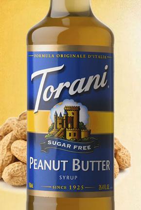 Torani Sugar Free Peanut Butter Syrup 750 ml