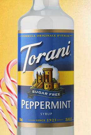 Torani Sugar Free Peppermint Syrup 750 ml