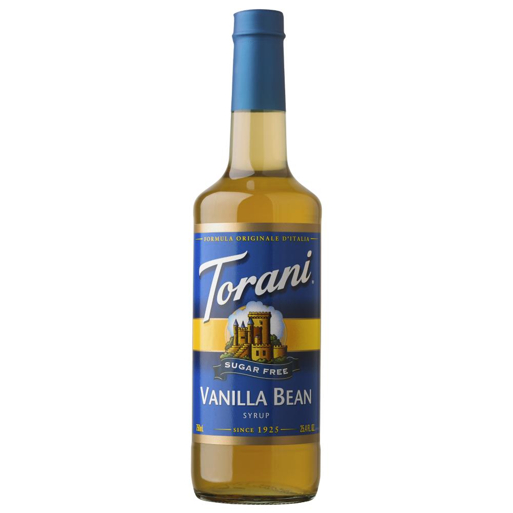 Torani Sugar Free Vanilla Bean Syrup 750 ml