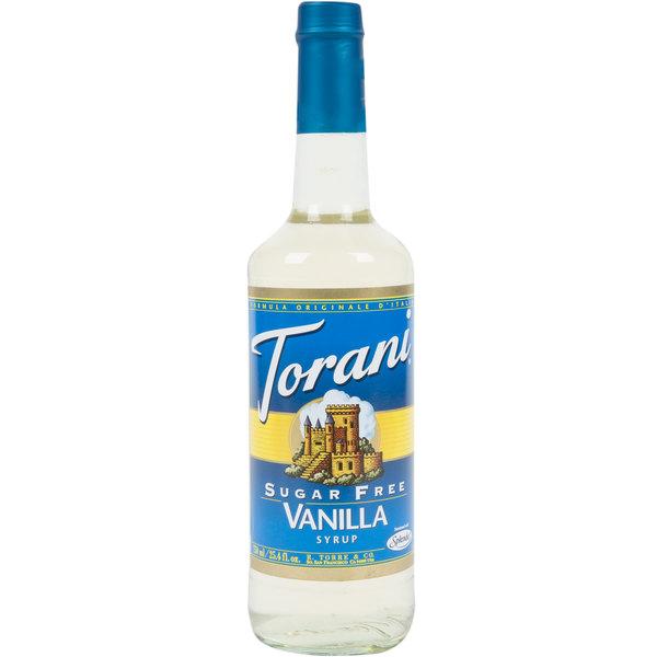 Torani Sugar Free Vanilla Syrup 750 ml