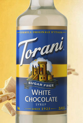 Torani Sugar Free White Chocolate Syrup 750 ml