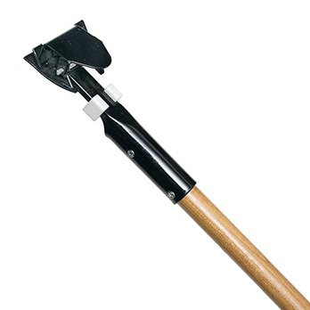 TUWAY Snap-Clip Jaws Dust Mop Handle for SN Frame