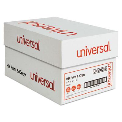 Universal Multipurpose Paper 95-96 Bright 20lb 8.5 x 11 White 500 Sheets/Ream 10 Reams/Carton